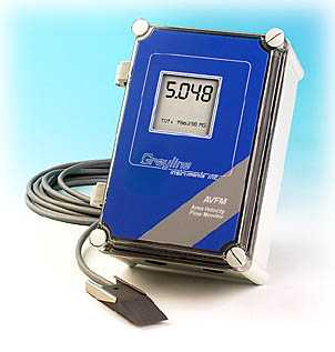 area velocity flow meter1